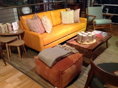 Orange_Sofa_Ottomans_Thrive_Showroom